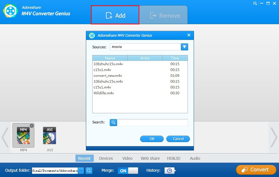 Video/Audio Converter | Easy and quick video/audio conversion!